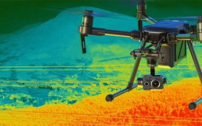 Тепловизионное обследование при помощи дрона